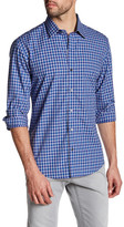 Zachary Prell Bayautet Long Sleeve Plaid Shirt