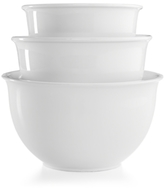Martha Stewart Collection CLOSEOUT! Collection 3-Pc. Ceramic Mixing Bowl Set
