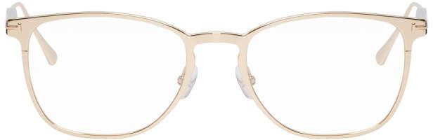 Tom Ford Gold Titanium TF-5483 Glasses
