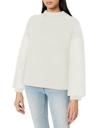 Kenneth Cole Women's Quilted Sleeve