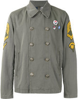 History Repeats - multi patched jacket - men - Cotton - 48