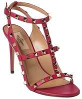 Valentino Rockstud Leather Sandal.