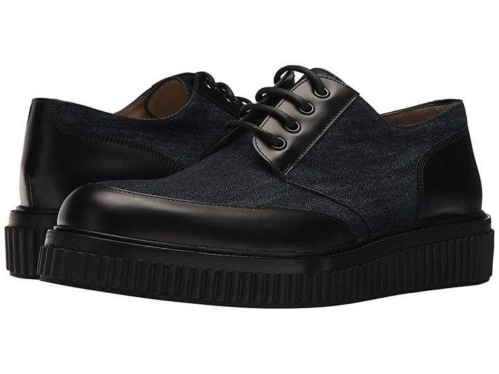 Paul Andrew Ethan Canvas Leather Oxford Men's Shoes