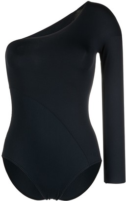 Eres Asymmetric One-Sleeved Swimsuit