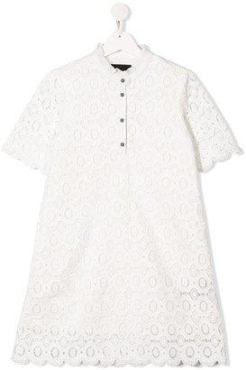 John Richmond Junior TEEN floral lace dress