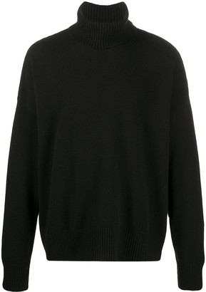 Ami Turtle Neck Oversize Jumper