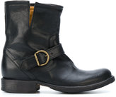 Fiorentini+Baker buckled ankle boots