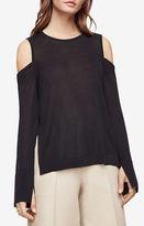 BCBGMAXAZRIA Anita Cold-Shoulder Sweater