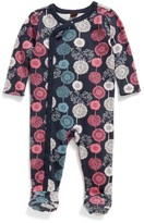 Tea Collection Infant Girl's Puff Footie