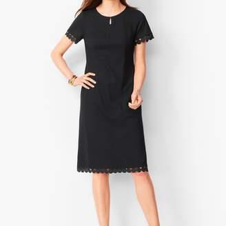 Talbots Refined Ponte A-Line Dress
