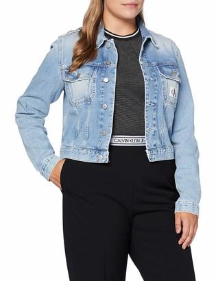 Calvin Klein Jeans Women's 90S Crop Trucker Jacket
