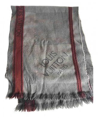 Louis Vuitton Brown Wool Scarves