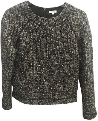 Manoush Black Wool Top for Women