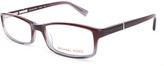 Michael Kors Purple Square Eyeglasses