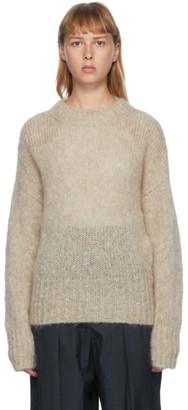 Isabel Marant Beige Mohair Estelle Sweater