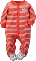 "Carter's Baby Boys' ""Smiling Bulldog"" Footed Coverall"