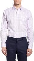 Nordstrom Smartcare Trim Fit Plaid Dress Shirt