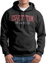 Sarah Men's Led Zeppelin Red Logo Hoodie L