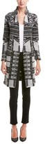 Custo Barcelona Printed Wool-blend Coat.