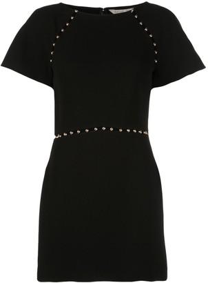 Rachel Zoe Fitted Studded Dress