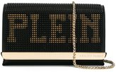 Philipp Plein Plein lettering crossbody bag