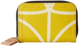 Orla Kiely Giant Linear Stem Small Medium Zip Wallet