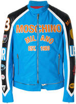 Moschino motocross jacket