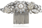 Jimmy Choo SYBIL Crystal Mix Metal with Crystals and Pearls Shoe Clips