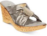 Onex Star Platform Wedge Sandals
