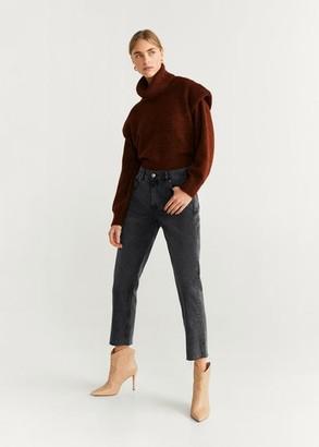 MANGO Jeans straight crop