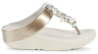 FitFlop Deco Embellished Wedge Sandals
