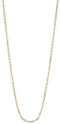 Alberto Milani Piazza Della Scala 18K Yellow Gold & 8-8.5MM Round Freshwater Pearl Necklace