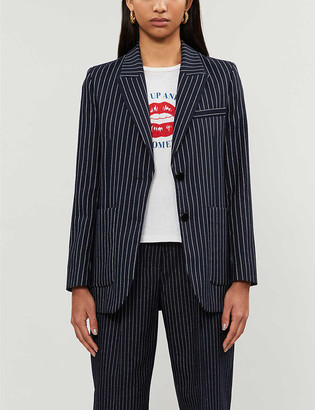 Claudie Pierlot Vale striped woven blazer