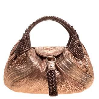 Fendi Spy Metallic Leather Handbags