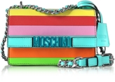 Moschino Rainbow Leather Small Crossbody
