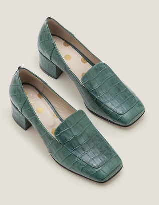Carina Heeled Loafers