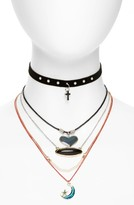 Topshop Women's 5-Pack Necklaces
