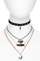 Topshop Women's Five-Pack Necklaces