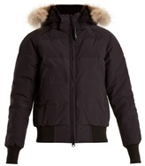 Canada Goose Savona fur-trimmed quilted bomber jacket