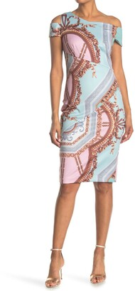 Ted Baker Yanar Cold Shoulder Bodycon Dress
