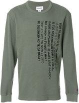 Converse waffle knit printed T-shirt
