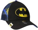 New Era Cap Men's Logo Wrapped Batman 39thirty Stretch Fit