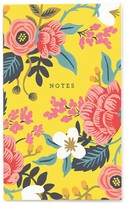 Rifle Paper Co. Birch Floral Small Notebook with 60 Removable Pages