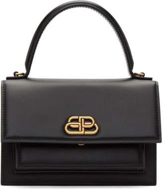 Balenciaga Black XS Sharp Satchel Bag