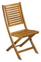 Oxford Garden Capri Set of 2 Folding Chair - Acacia