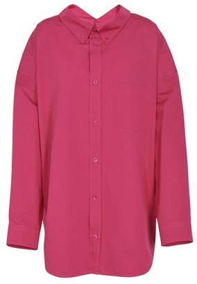 Balenciaga Swing long sleeves cotton shirt