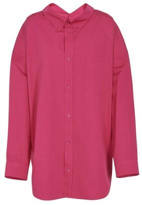 Balenciaga Swing long sleeves cotton shirt