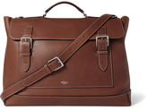 Mulberry Full-Grain Leather Messenger Bag
