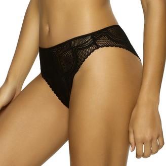 "Jezebel Finesse"" High Cut Brazilian Panty"