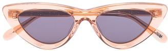 Cat Eye Chimi Peach sunglasses